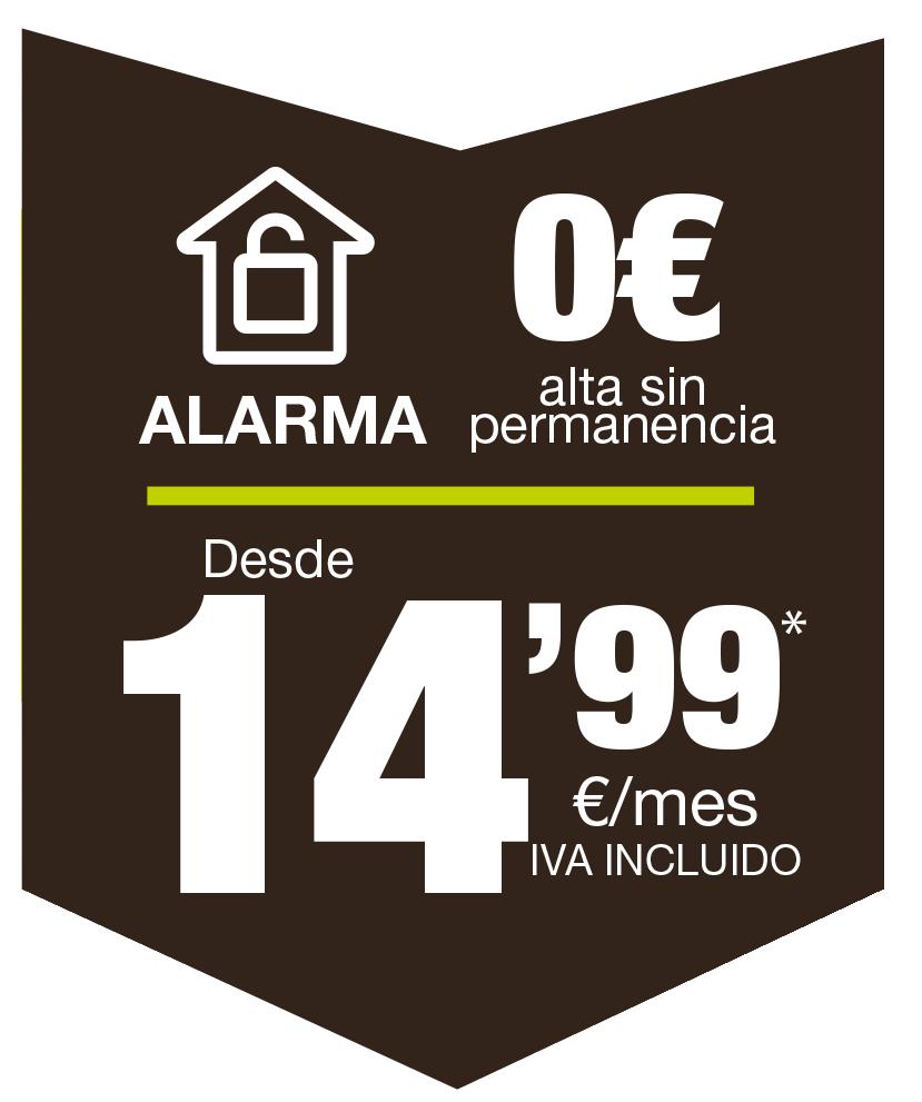 Alarma Fibranet 14,99€